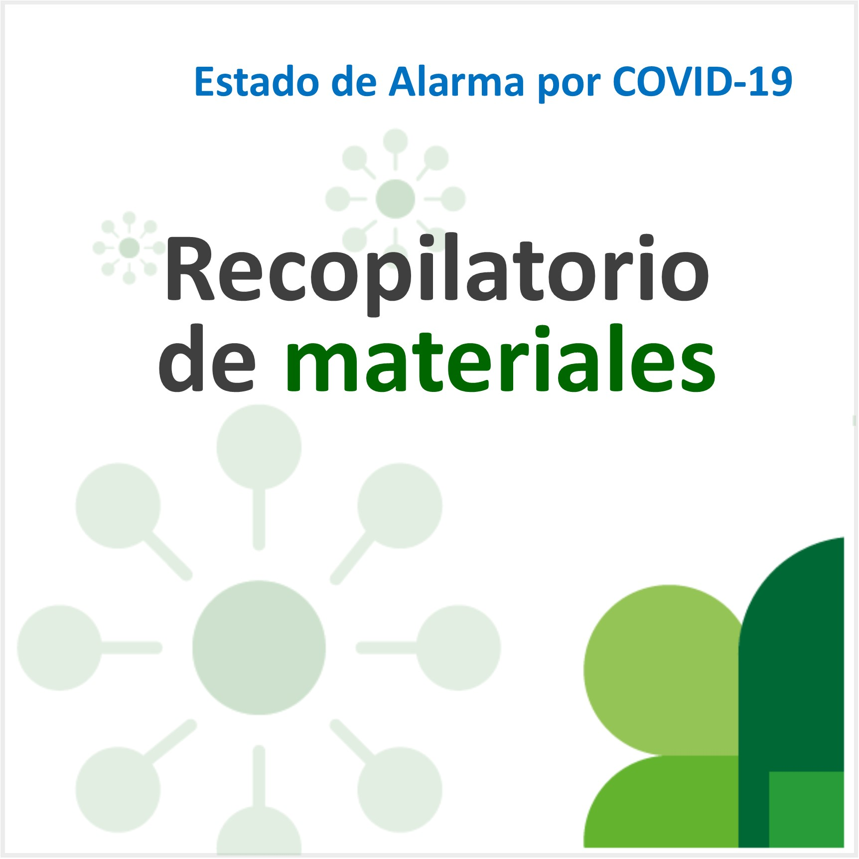 Recopilatorio materiales COVID-19